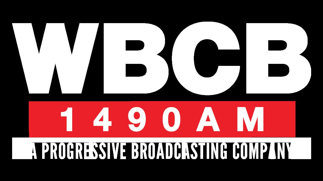 Logo for WBCB 1490AM - A Progressive Broadcasting Company